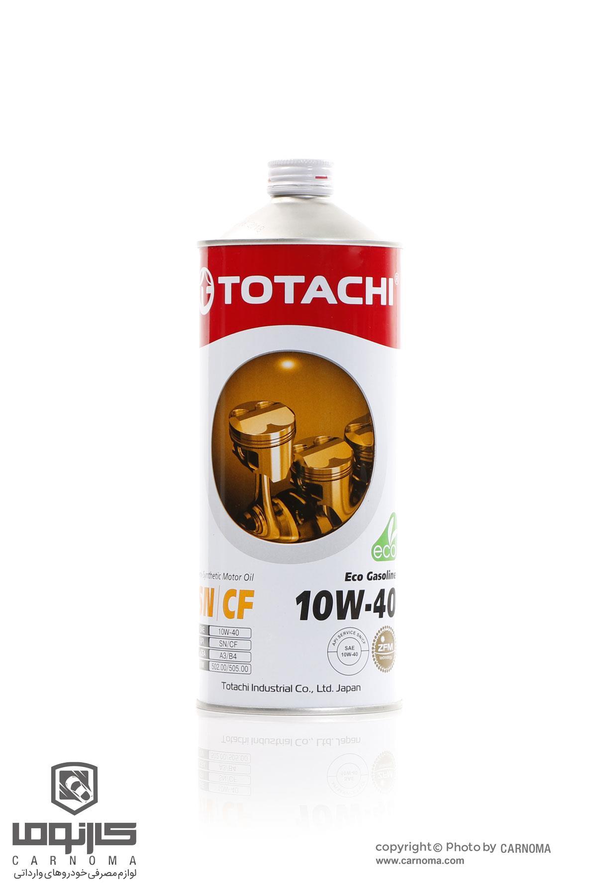 روغن موتور توتاچی 10w-40 حجم یک لیتر