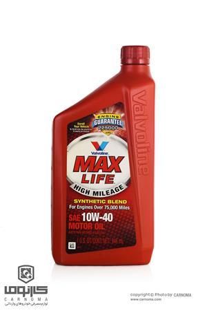 روغن موتور ولولین 10w-40 Max Life حجم 946 میلی لیتر