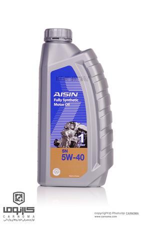 روغن موتور آیسین 5W-40 حجم یک لیتر