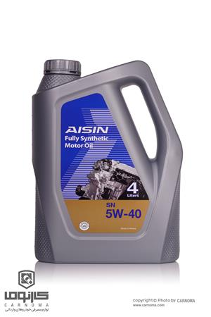 روغن موتور آیسین 5W-40 حجم چهار لیتر