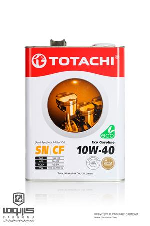 روغن موتور توتاچی 10w-40 حجم چهار لیتر