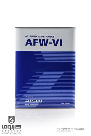 روغن گیربکس آیسین AFW-VI حجم چهار لیتر