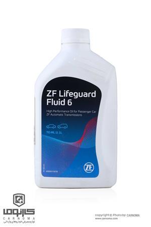 روغن گیربکس ZF Lifeguard 6 fluid حجم یک لیتر